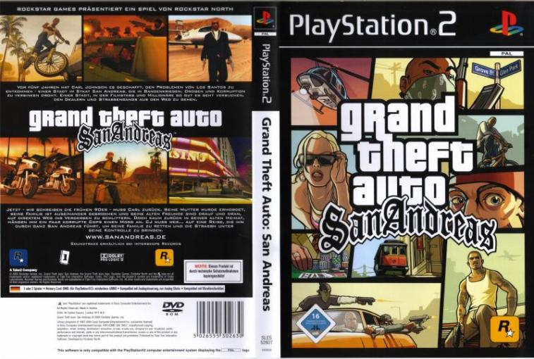 Grand Theft Auto   San Andreas  USA   v3 00  ISO   PS2 ISOs     Screenshot Thumbnail   Media File 6 for Grand Theft Auto   San Andreas  USA
