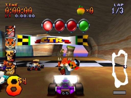 Resultado de imagem para crash racing ps1