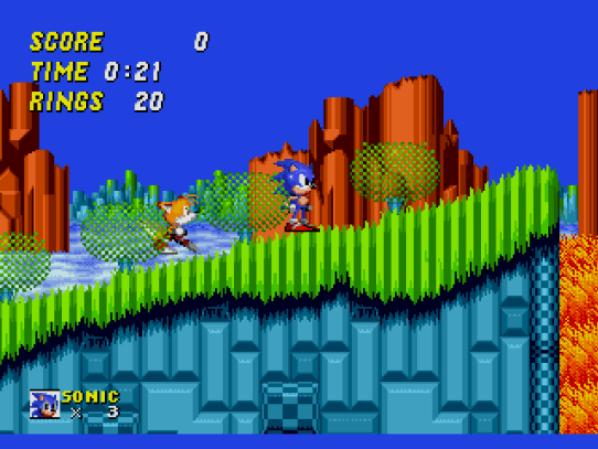 Image result for Sonic The Hedgehog 2 genesis