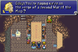 Final Fantasy VI Advance UXenophobia ROM