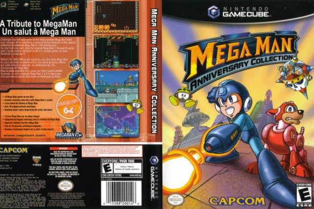 66696 Mega Man Anniversary Collection 2 Nintendo Switch to receive the Mega Man classics by May 22
