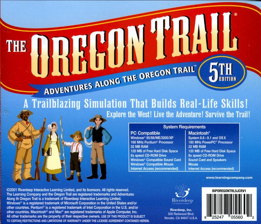 Oregon Trail Mecc Game