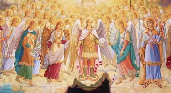 Чины ангелов, сил небесных и святых в Православии ...