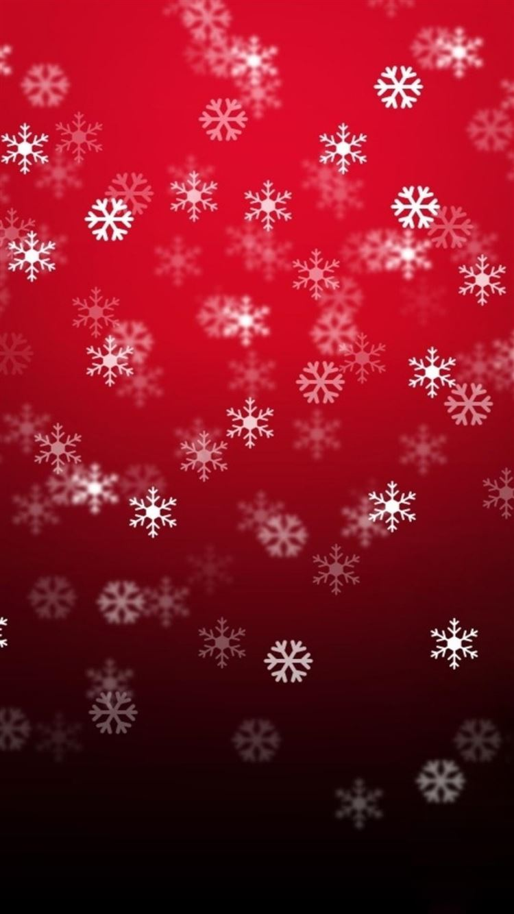 Christmas Snowflake Pattern Background iPhone 8 Wallpaper Download     iPhone 8 7 6 Plus