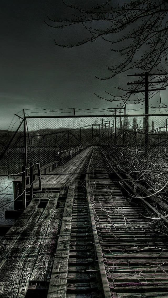 Old Railroad iPhone se Wallpaper Download   iPhone Wallpapers  iPad     Old Railroad iPhone se wallpaper
