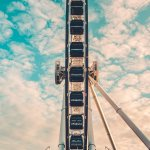 I Took This Shot Walking Past The Ferris Wheel Fro Iphone X Wallpapers Free Download