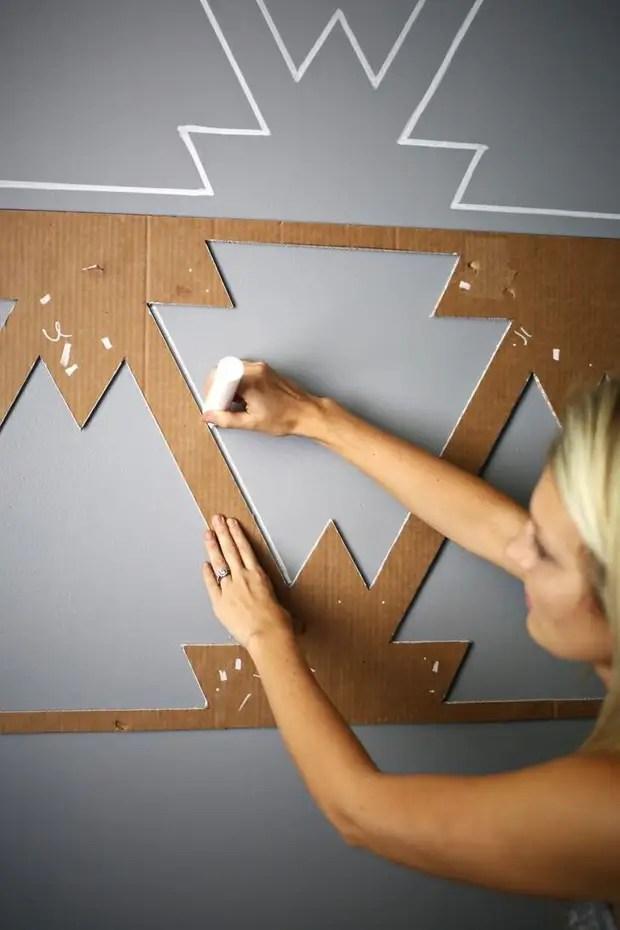 Трафареты для стен своими руками: тонкости и секреты техники
