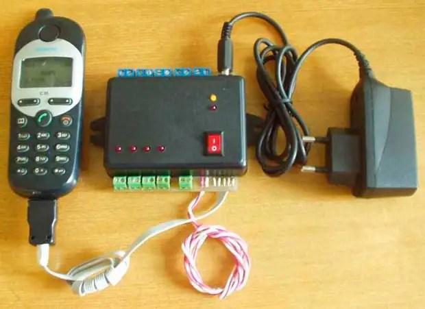 Как сделать GSM сигнализацию своими руками