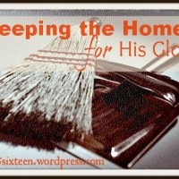 Keeping the Home Part I