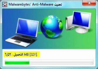 تحديث برنامج Malwarebytes 1.501
