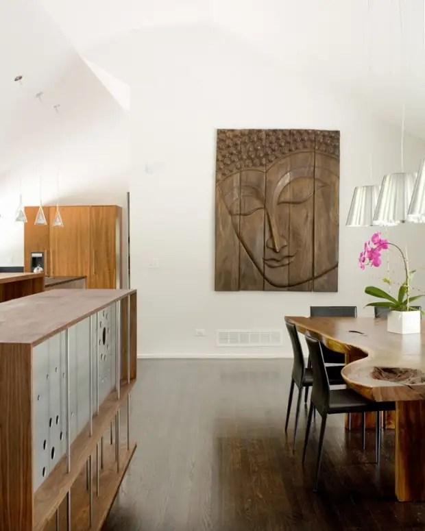 Pinturas de madeira esculpidas, uma vez muito popular em nossos avós e avós, agora novamente na moda