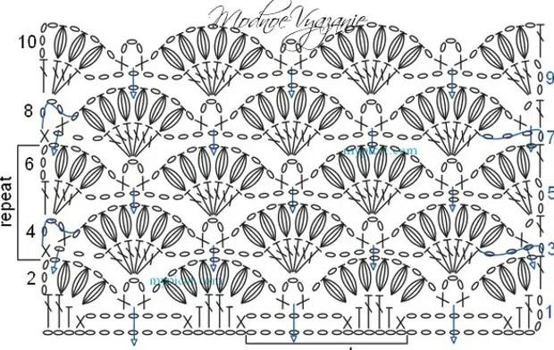 Узор-Крючком-Ракушки-ракушки-иоз-Пышных-Столбиков.4_1 (584x370, 193KB)