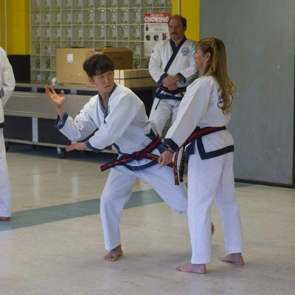 Ko Dan Ja Demonstrate At 133rd Dan Shim Sa In Fallsburg Ny