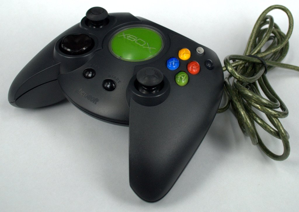 Dakota Official Wired Controller Duke For XBOX 1 Prototype With Breakaway Cable Gry I Konsole