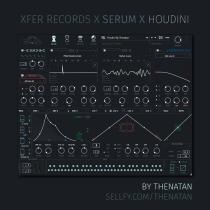 Thenatan Xfer Records HOUDINI Skin or Serum