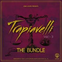 King Loops Trapiavelli: The Bundle (Vol 1-3) WAV MIDI