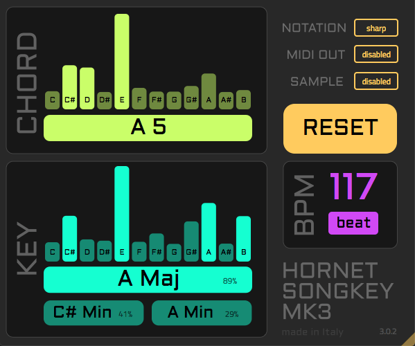 HoRNet SongKey MK3 v3.0.2 WIN & MacOSX