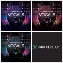Producer Loops Commercial EDM Vocals Bundle Vol. 1-3