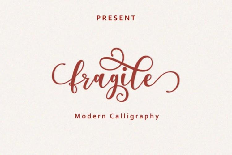 Download Fragile Font free download r2rdownload