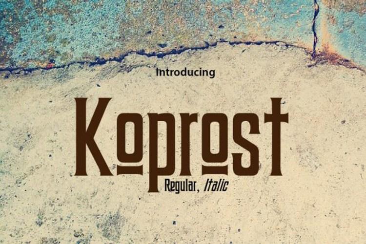 Download Koprost Font-r2r free download free download r2rdownload