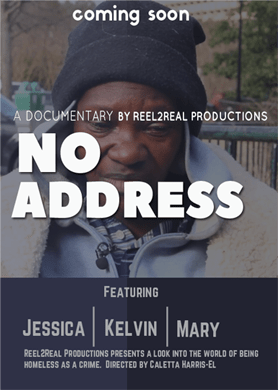 marketing, documentary, video production, r2rpro, r2r, reel2real, reel2reel, real2real, reel to reel, no address, no address documentary, homeless, homelessness