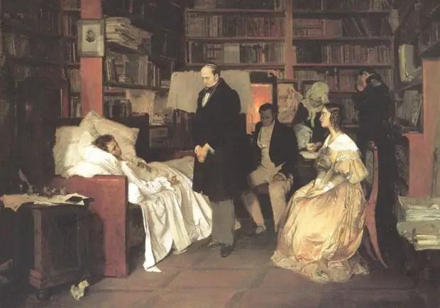 مرگ Pushkin - حقایق کنجکاو