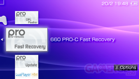 PRO Fast Recovery
