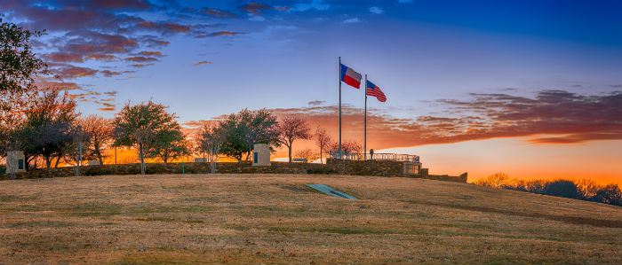 Frisco Commons Park in Texas