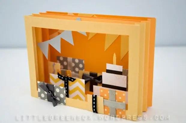 Bưu thiếp Hoa 3D DIY