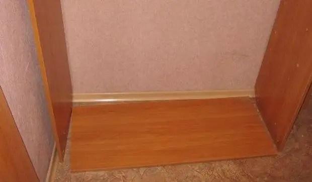 Шкафтың төменгі және қабырғаларын орнату