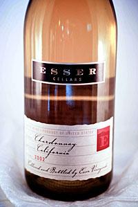2002 Esser Cellars Chardonnay