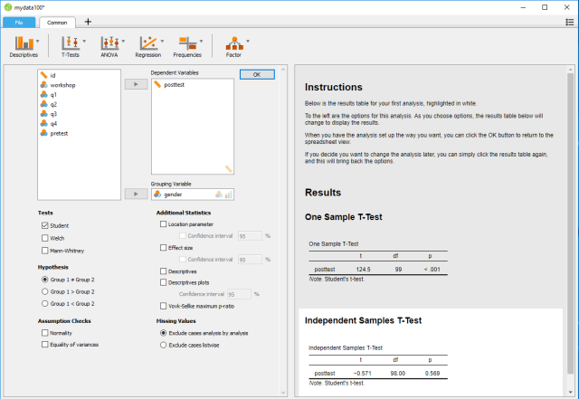 JASP统计软件比较综述