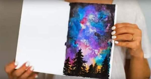 Как создавать красивые текстуры и эффекты на листке бумаги ...