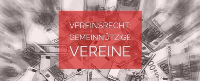 Vereinsrecht: Gemeinnützige Vereine - Gemeinnützigkeit | Rechtsanwalt Vereinsrecht Köln
