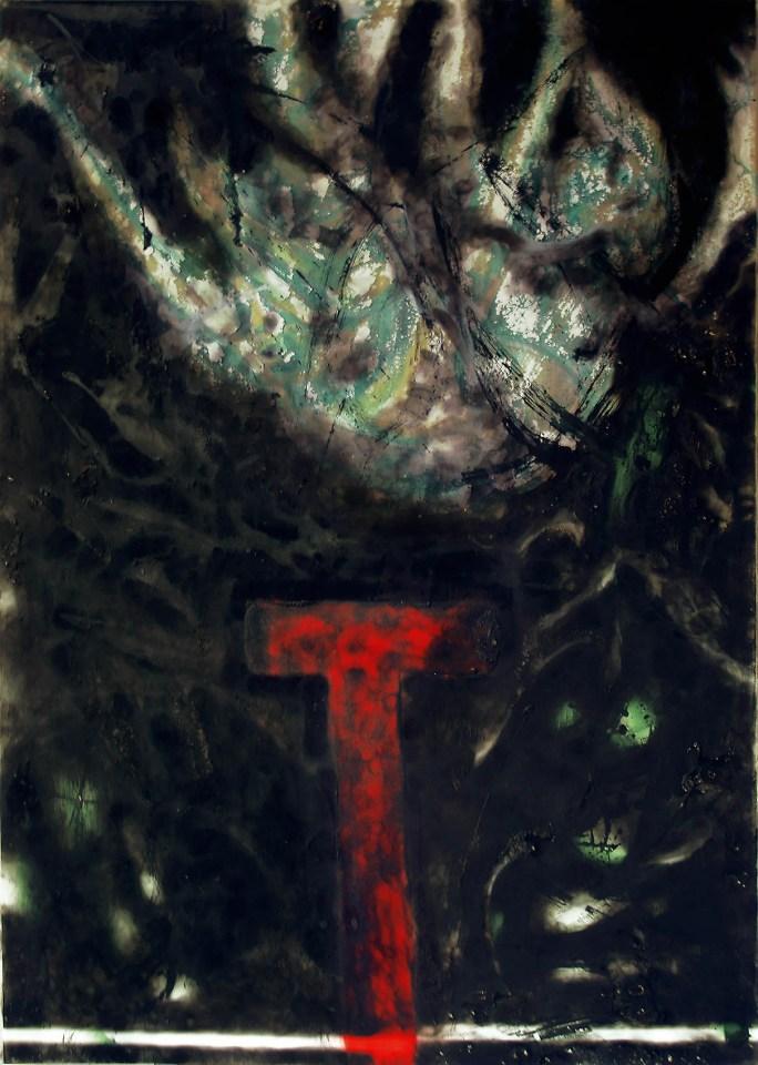 """Titel: Aufklärung (aus der Serie """"Schwarze Serie"""")"""