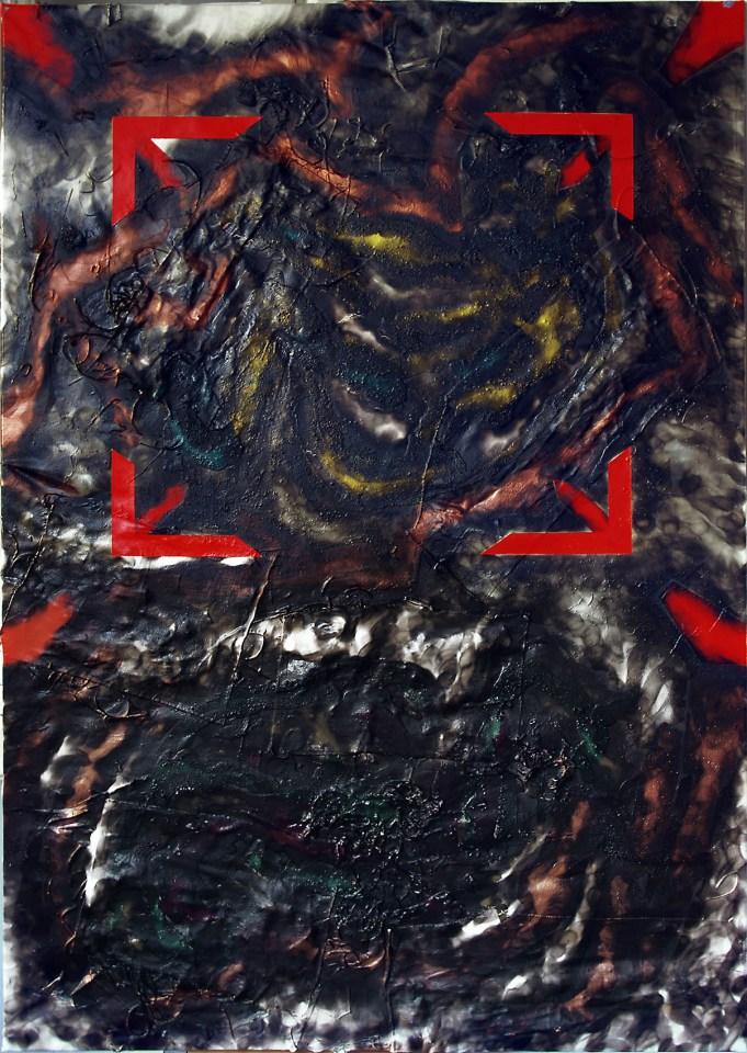 """Titel: Mimikry (aus der Serie """"Schwarze Serie"""")"""