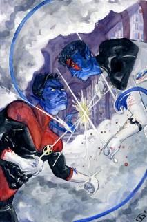 Nightcrawler and Age of Apocalypse Nightcrawler: X-men