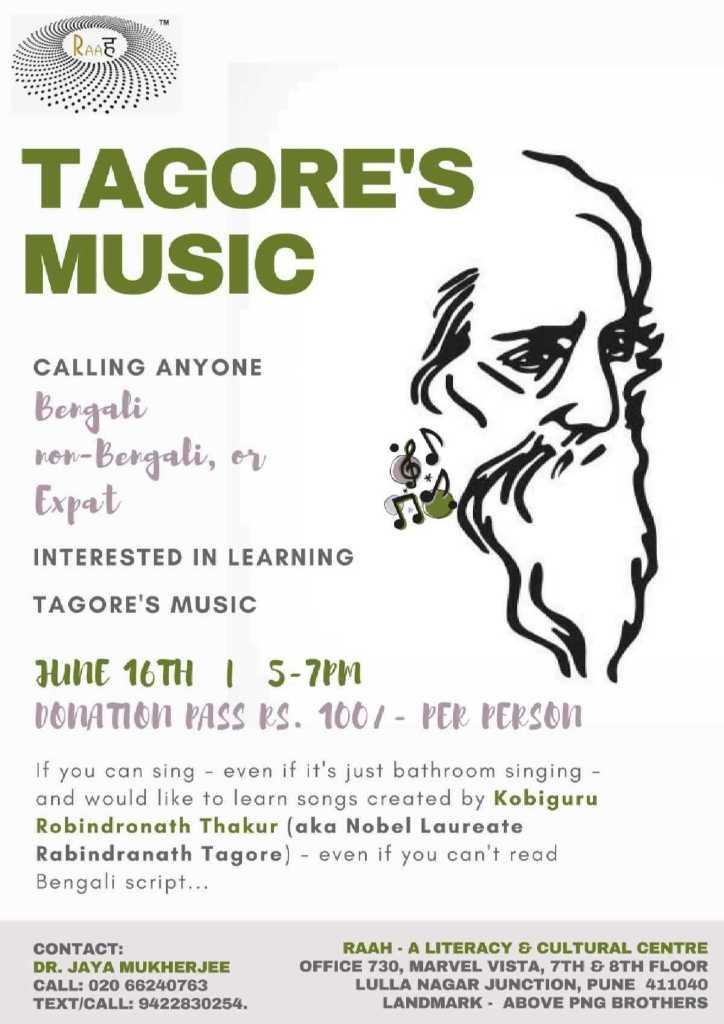 Tagores-Music-June