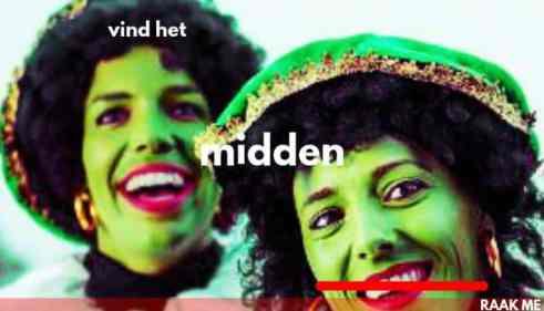 Groene Piet en Sinterklazina