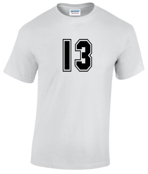 sports letter 13 design