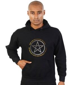 bide the wiccan rede pagan hoodie