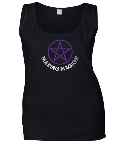 making magick ladies pagan vest top