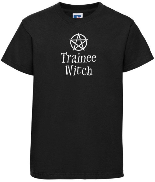 trainee witch kids shirt