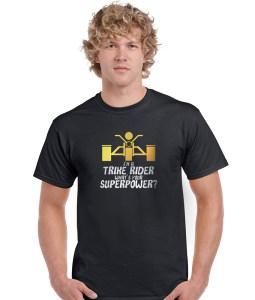 trike rider superpower men's biker shirt