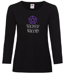 wicked wiccan ladies pagan top