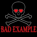 bad example ladies funny shirt