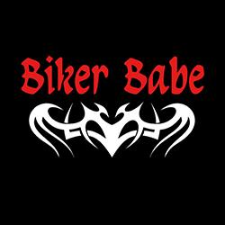 biker babe with tribal image ladies biker design