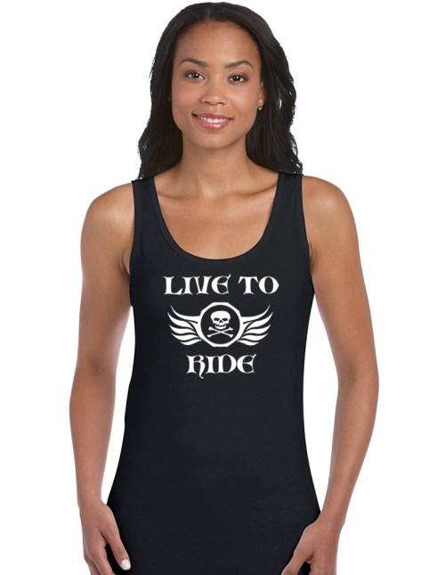 live to ride biker shirt