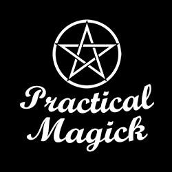 practical magick ladies pagan shirt