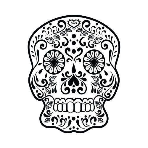 sugar skull design 09